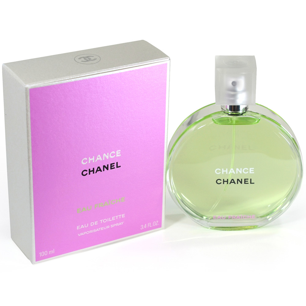 boxed packed chanel chance eau fraiche eau de toilette spray 100ml34oz available at shopclues