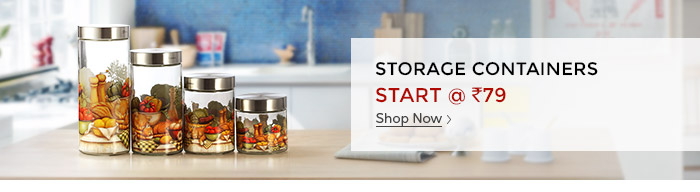 Shopclues: Storage Containers Start @ Rs. 79