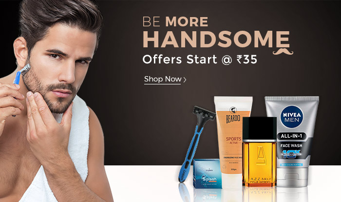Shopclues: Men's Grooming Essentials Start @ Rs. 35/-