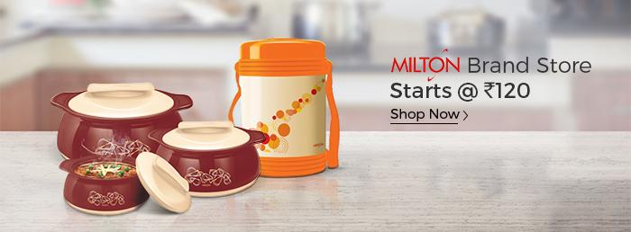 Shopclues: Milton Brand Store Starts @ Rs. 120/-