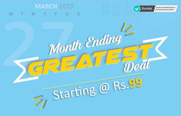 Shopclues: Greatest Deals of all Times Starting @ Rs.99/-