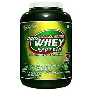 Bodyfuelz 100 Whey Protein 2lb Choclate With Free Shaker