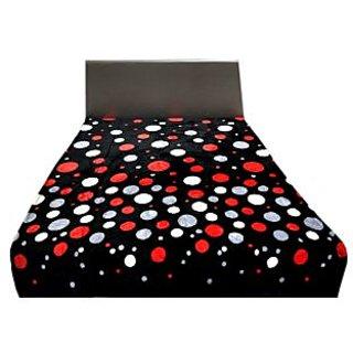 Valtellina Ravishing Multi Big Dots Design Single Bed Blanket (LVS-018)