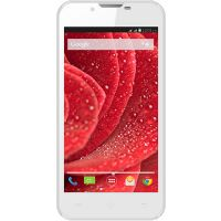 "Lava Iris 500 (White) 5"" Touch;1.2 GH Dual Core;Android V4.4 KitKat;5 MP Camera"