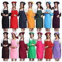 Fanto Brand-Kitchen Apron Maid With 100% Cotton