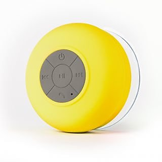 Callmate-BTS-06-Bluetooth-Shower-Speaker-Yellow