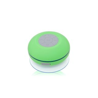 Callmate-BTS-06-Bluetooth-Shower-Speaker-Green