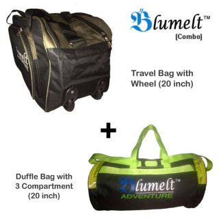 Stylish blumelt travel bag combo fotos