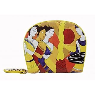 Jstarmart Traditional IndiaSmall Wallet Clutch Pouch For Women  JSMFHHB0116