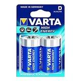 VARTA High Energy 2 D Size Alkaline Batteries ( Pack Of 5 Pcs. )