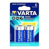 VARTA High Energy 2 C Size Alkaline Batteries ( Pack Of 5 Pcs. )