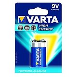 VARTA High Energy 1 9V Alkaline Battery ( Pack Of 5 Pcs. )