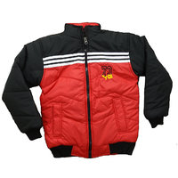 Alfa Yo Premium Full Sleeves Boy's Padded Jackets - Red