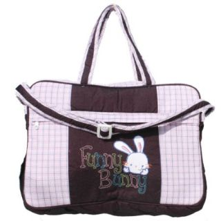 diaper bag mothers bag square print pink in india shopclues online. Black Bedroom Furniture Sets. Home Design Ideas