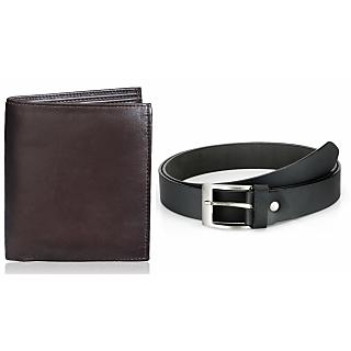 Rico Sordi Leather Wallet & Leather Belt(Design 3)(Rsmw_35_37_Wb)