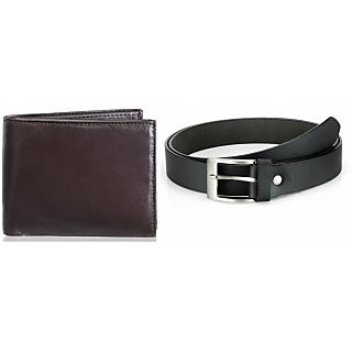 Rico Sordi Leather Wallet & Leather Belt(Design 4)(Rsmw_37_39_Wb)