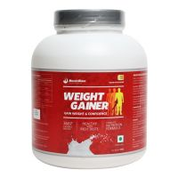 MuscleBlaze Weight Gainer, Kesar Pista Badam 3 Kg