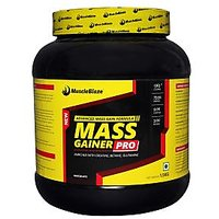MuscleBlaze Mass Gainer Pro, Chocolate 1.5kg