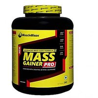 MuscleBlaze Mass Gainer Pro, Chocolate 3kg