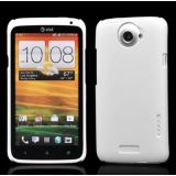 White Ultra Thin Rubberized Matte Hard Case Cover For HTC One X