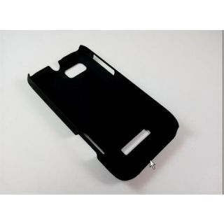 Black Ultra Thin Rubberized Matte Hard Case Cover For Motorola Defy Xt535