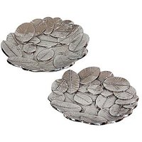 Dinnerware 2 Pcs Multi Leaf Platter Set