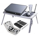 Portable Laptop E Table With Two Cooling Fans USB available at ShopClues for Rs.599