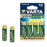 VARTA PROFESSIONAL ACCUS 4xAA 2700mAh Rechargeable Batteries