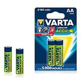 VARTA LONGLIFE ACCUS 2AA 2100mAh Rechargeable Batteries