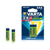 VARTA LONGLIFE ACCUS 2AAA 800 MAh Rechargeable Batteries