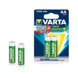 VARTA POWER ACCUS 2AA 2300mAh Rechargeable Batteries