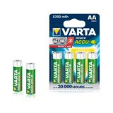 VARTA POWER ACCUS 4AA 2300mAh Rechargeable Batteries