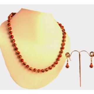 Porcupine Meenakari Balls Necklace SetPN-JW-NS-3