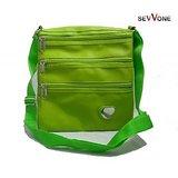 Sevvone Green Designer Sling Bag
