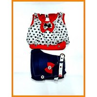 Kids Girls Fancy Tops and Short:CB-1502(1-3 Years)