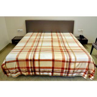Valtellina Lovely Check DesignSingle Bed Blanket (PFS-001)