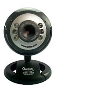 Quantum 6 Led Night Vision Usb 25 Mp Webcam With Microphone