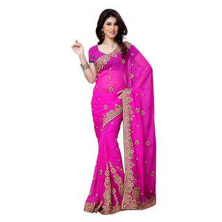 First Loot Party Wear Saree-DFS493B