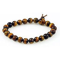 TIGER EYE STONE POWER BRACELET SMALL( CRYSTAL HEALING )  FENGSHUI VASTU
