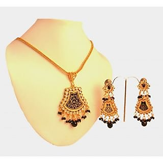 Porcupine Thewa Pendant Set PN-JW-PS-110