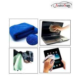 Autosun Multi Purpose Microfiber Dry Wet Cleaning Polishing Cloth