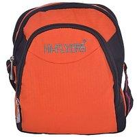 NSN Hilflyer Fashionable Sidebag In Orange & Black Color