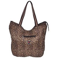 NSN Shopping Bag With Leopard Print