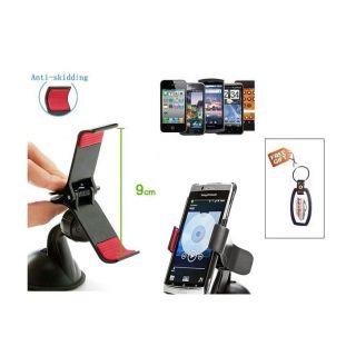 Autosun Nokia Lumia 630 Car Mobile Clipholder Free Key Chain