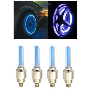 Autosuncar Tyre Led Light With Motion Sensor Blue Color Set Of 4 Volkswagen Phaeton