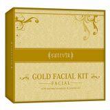 Sattvik Organics  Gold Facial Kit Gfk410 (410gm)