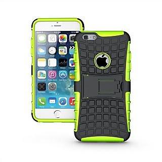 Wow Super Grip Armor Stand Case For Apple iPhone 6Plus - Green HAi6PlusGreen