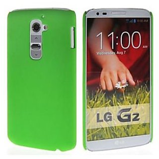 Wow Matte Rubberized Finish Hard Case For Lg G2 -green MTLGG2Green