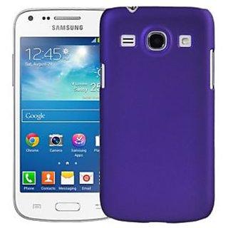 Wow Matte Rubberized Finish Hard Case For Samsung Galaxy Core I8262-dark Purple MTSI8262DPurple