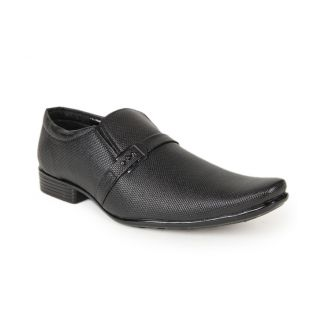 Foot 'n' Style Exclusive Black Slip-on Shoes (fs109)